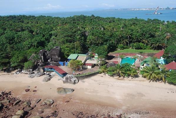 le magellan hotel ile de kassa island
