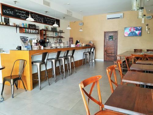 cafe kwae in ghana