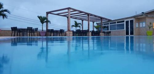 the hub hotel swimming pool